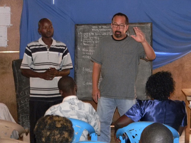 Teaching at the Bible College